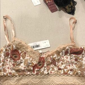 Spell & the Gypsy Sahara lace bralette, rose water